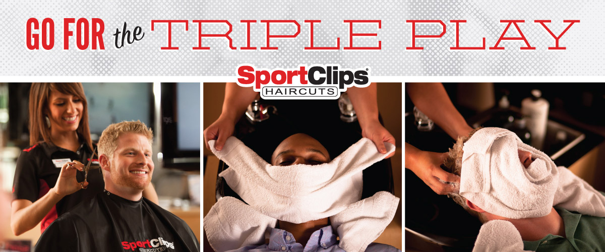 The Sport Clips Haircuts of Fairport Triple Play